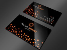 circles business card by Advero
