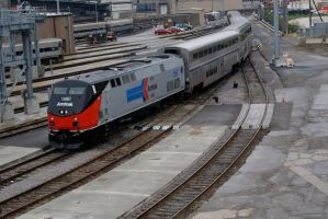 Amtrak 156 phase one livery by JamesT4