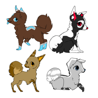 Dog Adopts by LeveButt