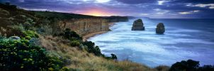 12 apostles dawn pano by saxtim