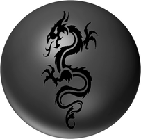 black dragon orb by desithen