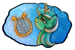 Lyra is playing lyra by mrs1989
