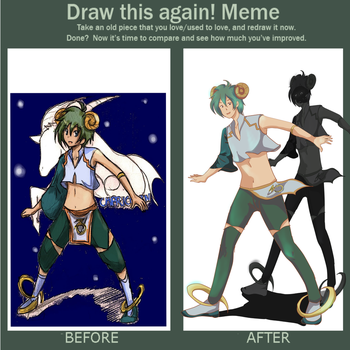 Meme  Before And After By Bampire-d2xu044 by x-Charis-x