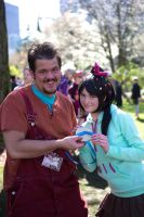 WIR: Ralph And Vanellope by AnyaPanda