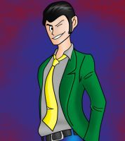 Lupin III by joeyboylondon