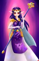 Legend of Zelda Princess Hilda by Polarstare