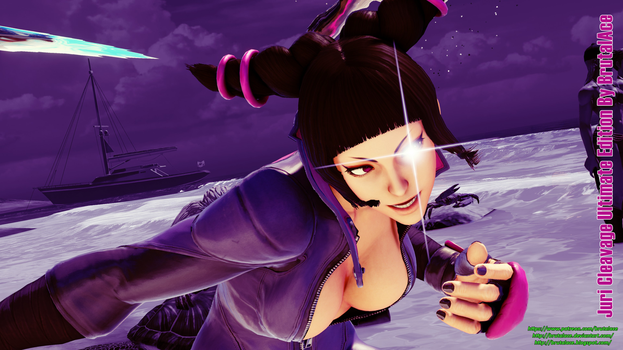 Juri Cleavage Ultimate Edition by BrutalAce