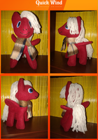 Quick Wind Plushie by The-Croolik