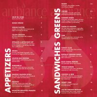Ambiance Dinner Menu 2 by live-without-borders