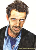 Dr. House  or Hugh Laurie by lycanlauren