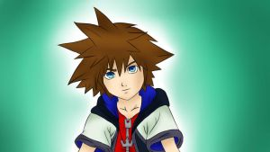 Sora Colored by Itachisgirl4ever