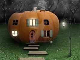 Pumpkin House by Juli-SnowWhite