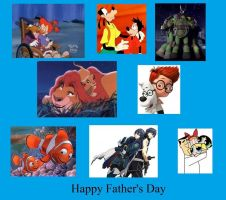 Father's Day Collage by VGAfanatic