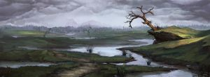Dead Marshes by DanDanDanTheMan