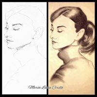 Audrey Hepburn by Maryluworld