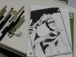The Spirit Con sketch by ryancody
