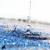 blue drops by topinka