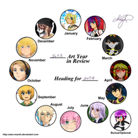 2013 Art Summary by Jchoco
