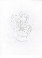 RE- Claire Redfield by Greendayrox489