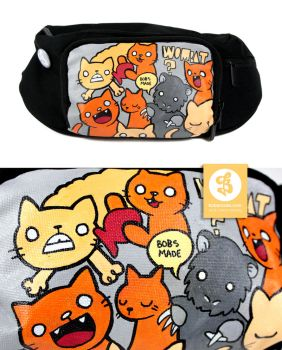 Cats and Wombat Bag by Bobsmade