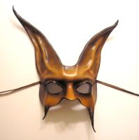 Freaky Rabbit Mask in Brown by teonova
