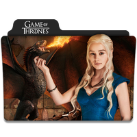 Game of Thrones : TV Series Folder Icon v2 by DYIDDO