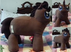 Doctor Whooves Chibi Plush by nenfere