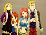 Fairy Tail AU: The Dreyar Family by EmilyValkov