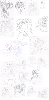 Giant Sketch Dump Thing by MarillMatey