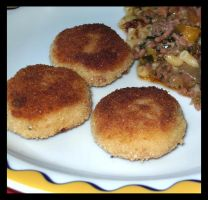 Potato Croquette . side dish by Snowflaky