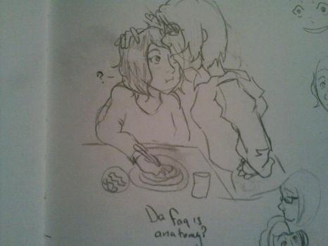 The Random Anchovy and I by MissMillinu