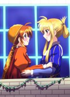 Magic Girl Lyrical Nanoha by CagalliYuAfter