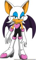 Rouge the Bat by Advert-man