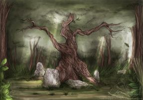Runic Oak - COLOR by ValkAngie