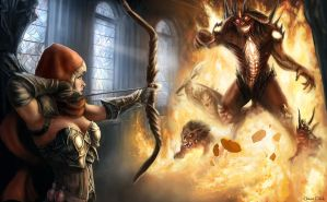 Diablo - Final Battle by Jorsch