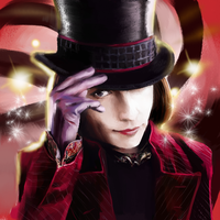 johnny depp as willy wonka by hyper-uniQue