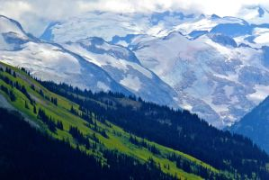 Whistler Slopes by WestSideofMidnight