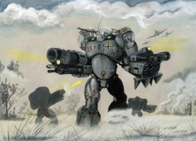 German heavy robot by martinorona
