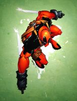 Deadpool by Rantz by spidermanfan2099