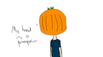 Pumpkin Head! by Terra2341