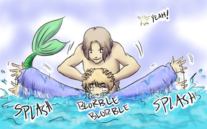 Drown the Wendy - Hetalia by TriaElf9