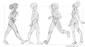 Theme-Basic poses(Walk) by Nieris