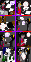 Gamkat Christmas comic entry by evillovebunny500