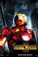 """Iron Man 3"" teaser poster by AndrewSS7"
