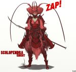 scolpendra knight by pancaloric