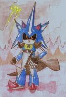 Neo Metal Sonic by EpicOverload