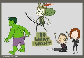 Loki Does What He Wants pt. 2 by KicktheFish