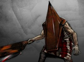 Pyramid Head Biro Colours by TDA-3d