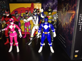 Power Rangers Toy Collection 013: Blue Ranger by AnutDraws