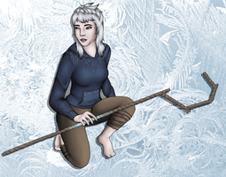 Jack Frost female by crazydesignlover16